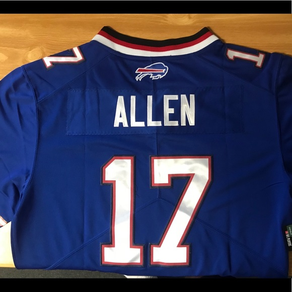 huge discount f03a2 6f841 Josh Allen Buffalo Bills Jersey